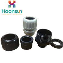 hot sale waterproof UL nylon PA66 powerful corrugated pipe fittings