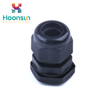 black nylon cable glands /parts of cable gland from HX