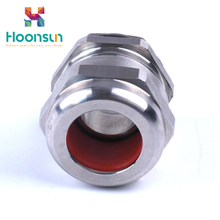 m type simple explosionproof metal armoured cable gland