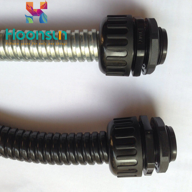 nylon waterproof top quality powerful corrugated pipe fittings sizes