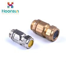 2018 new products Explosion-proof brass cable gland from Hoonsun