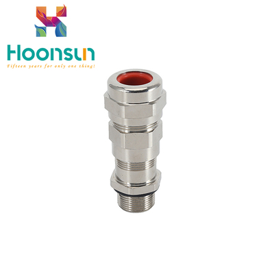waterproof IP66 and explosionproof metal armoured cable gland